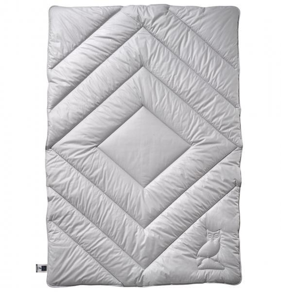 billerbeck Bettdecke Hermine aus Faser 135x200 cm Farbe silver