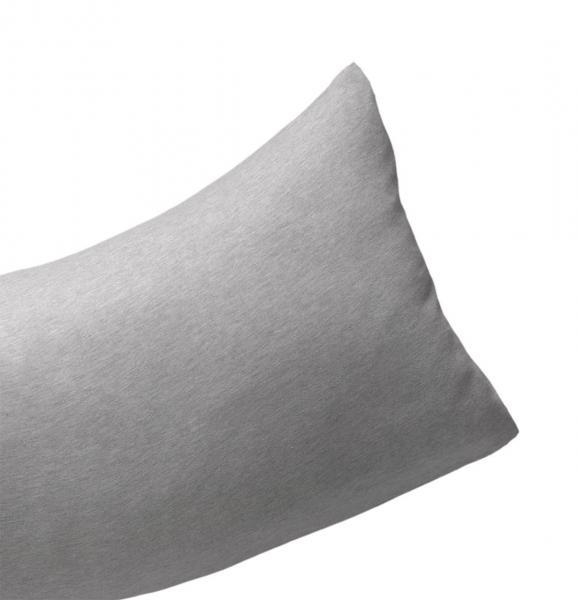 billerbeck Kissenbezug für Seitenschläferkissen Sinus 30x130 cm Farbe antrazith