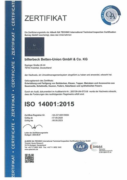 Zertifikats-Urkunde_DIN-ISO-14001_QA-Technic_07-08-2020