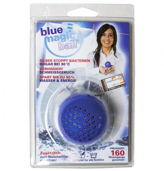 billerbeck mit blue magic ball - ökologisch, preiswert und rein waschen