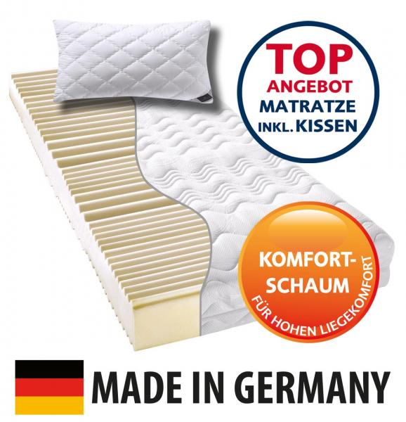 billerbeck-Matratze-Komfortschaummatratze_Made-in-Germany - Preisknaller